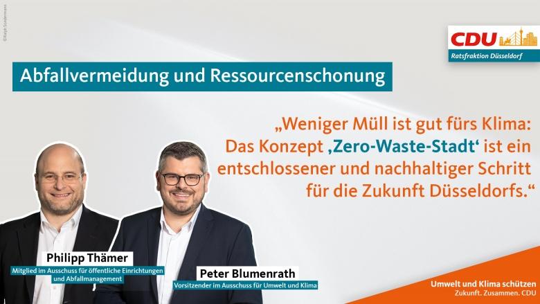 Abfallvermeidung und Ressourcenschonung