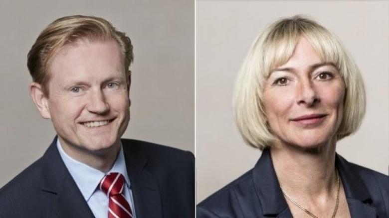 Andreas Auler und Sabine Schmidt