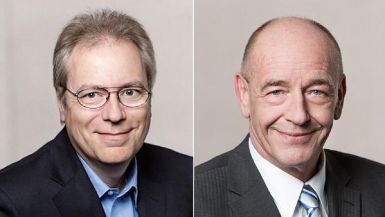 Rüdiger Gutt und Rolf Tups