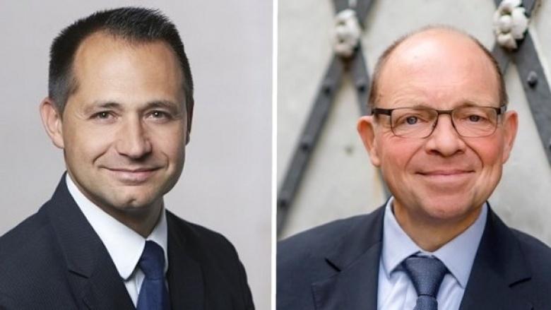 Pavle Madzirov und Andreas-Paul Stieber