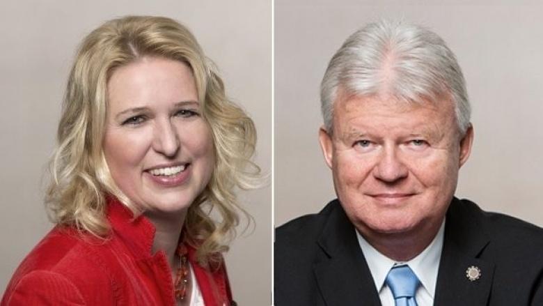 Angelika Penack-Bielor und Klaus-Dieter Lukaschewski