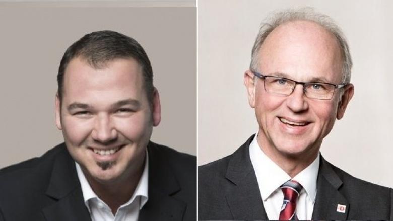 André Simon und Dr. Alexander Fils