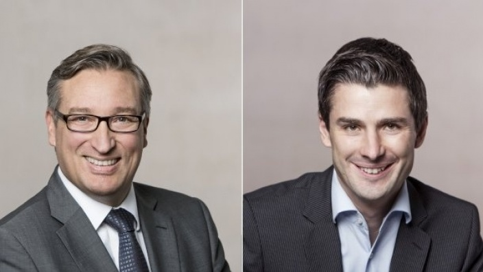 Andreas Hartnigk und Christian Rütz