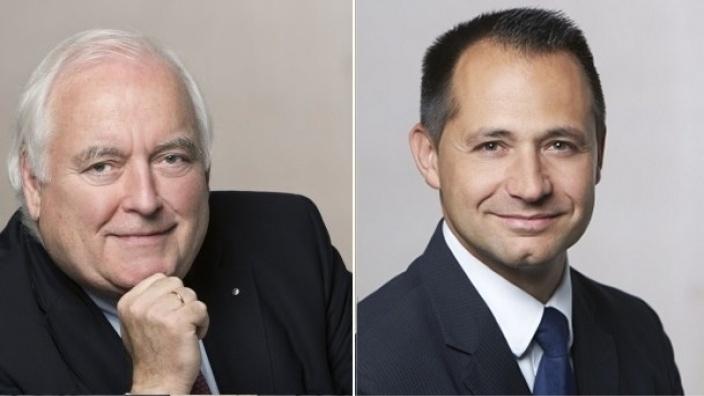 Friedrich G. Conzen und Pavle Madzirov