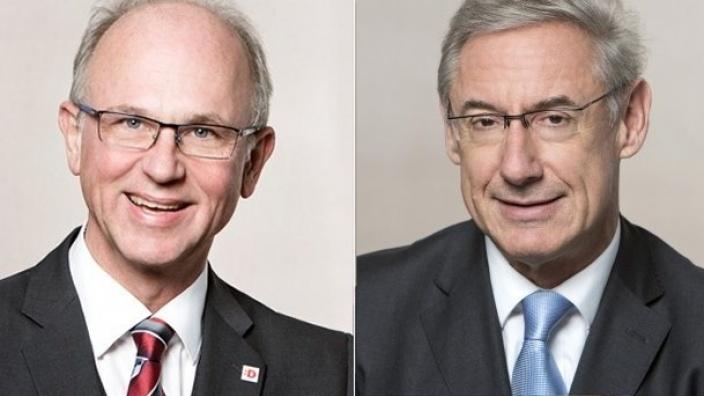 Dr. Alexander Fils und Harald Neuhaus