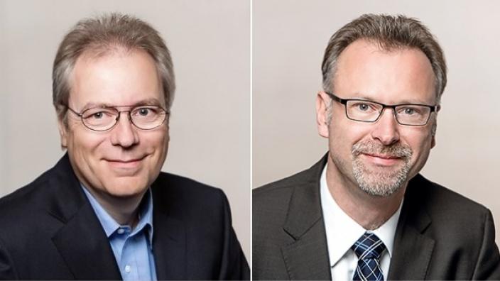 Rüdiger Gutt und Marcus Münter