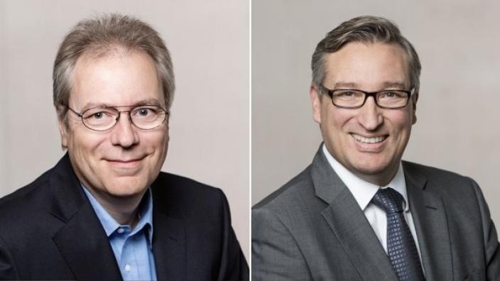 Rüdiger Gutt und Andreas Hartnigk