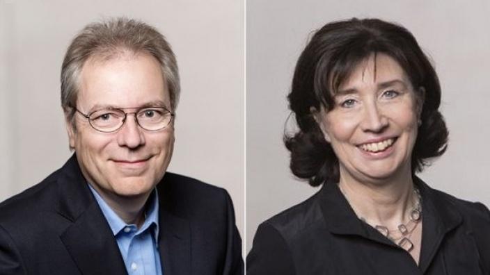 Rüdiger Gutt und Dagmar von Dahlen