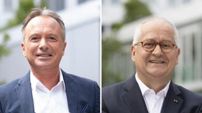 Klaus Mauersberger und Giuseooe Saitta