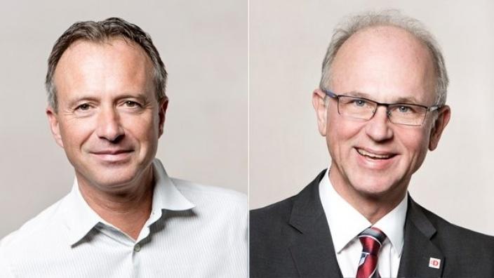 Klaus Mauersberger und Dr. Alexander Fils