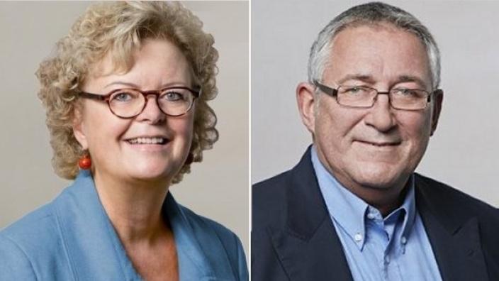 Constanze Mucha und Rolf Buschhausen