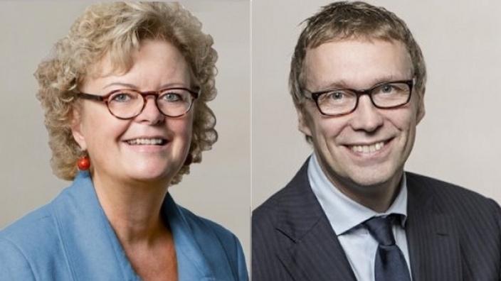 Constanze Mucha und Stefan Wiedon