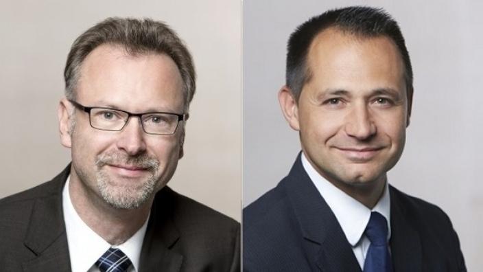 Marcus Münter und Pavle Madzirov