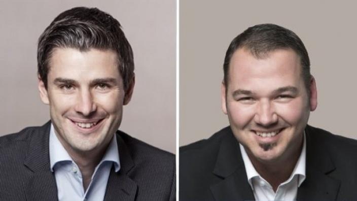 Christian Rütz und André Simon