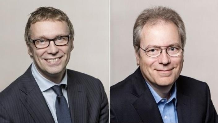 Stefan Wiedon und Rüdiger Gutt