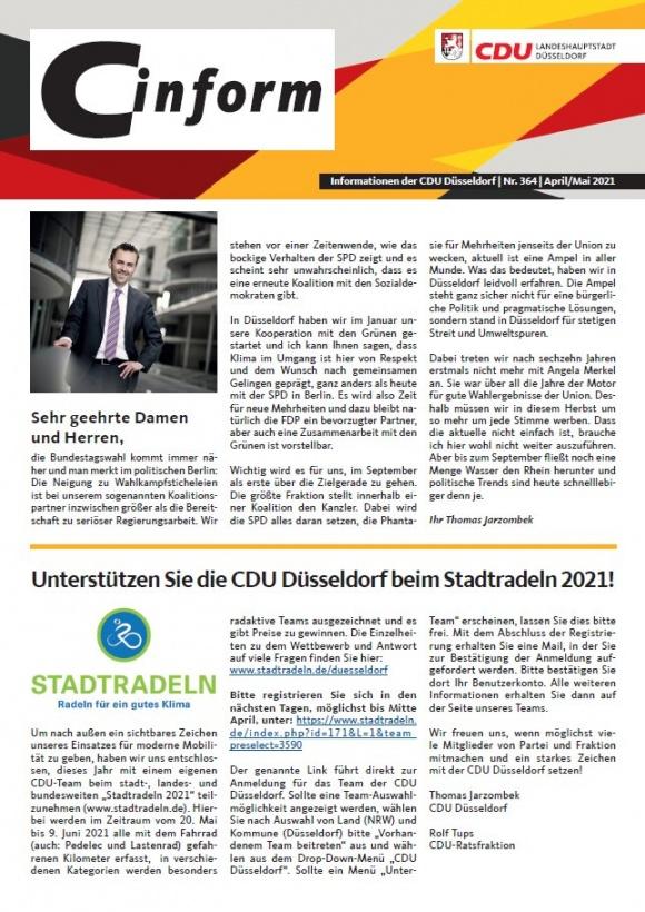 C-Inform: Mitgliedermagazin April/Mai 2021